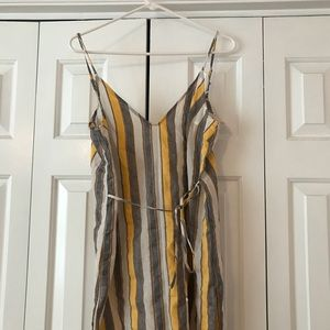 Honey Punched stripped dress